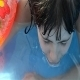 Girl Playing In Water - 17