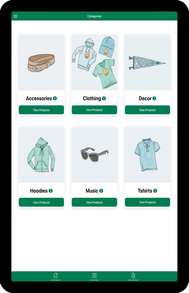 WooCommerce Point of Sale (POS) Android iOS apps using Ionic 5 Angular - 2