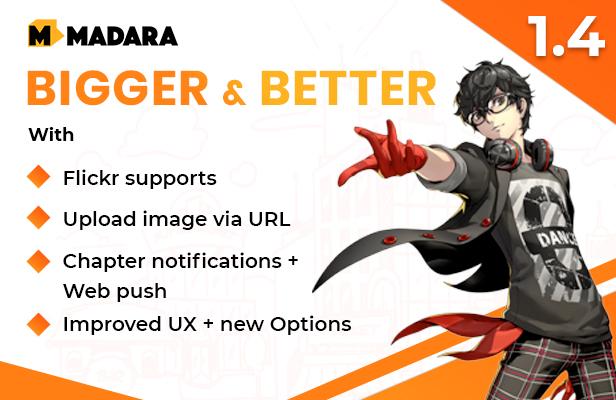Madara - WordPress Theme for Manga - 3