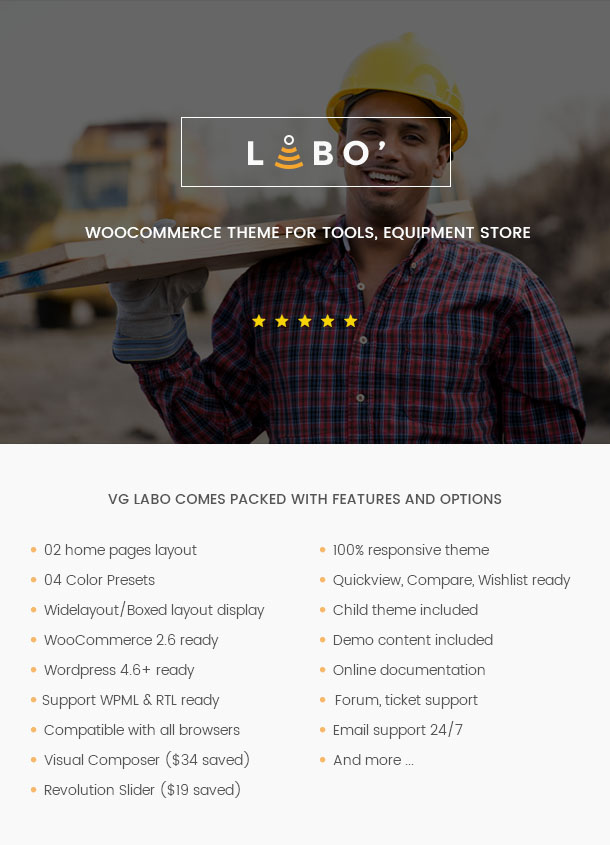 VG Labo - WooCommerce Theme for Tools, Equipment Store - 12