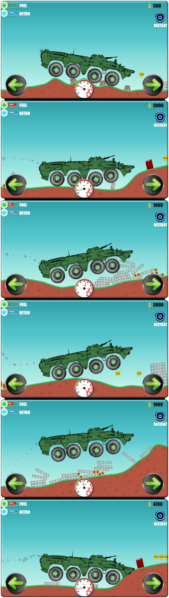 (Car Physics) BTR-80 Construct 2 (Construct 3   Construct 2   Capx) - 1