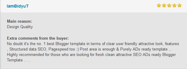 Masala - Responsive Multipurpose Blogger Template - 2