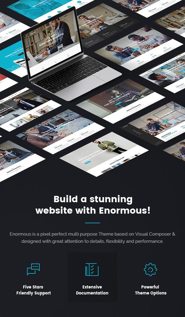 Enormous Business - Responsive Multi-Purpose WordPress Theme - 4