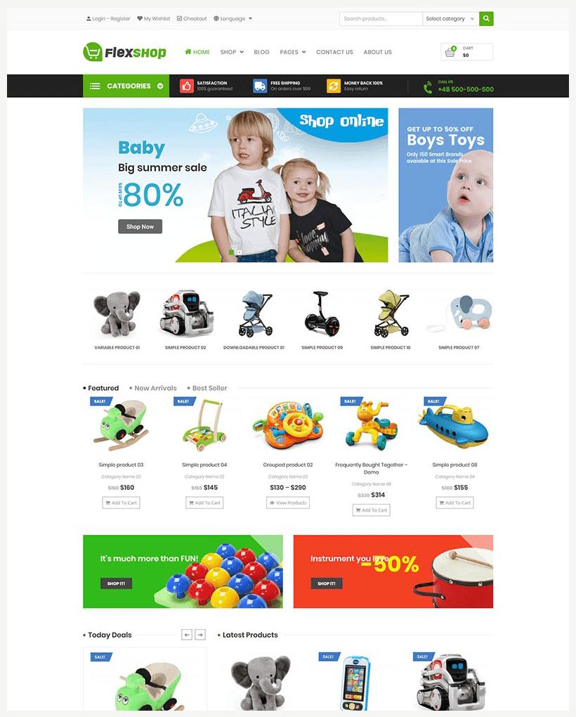 VG Flexshop - Multipurpose Responsive WooCommerce Theme - 13