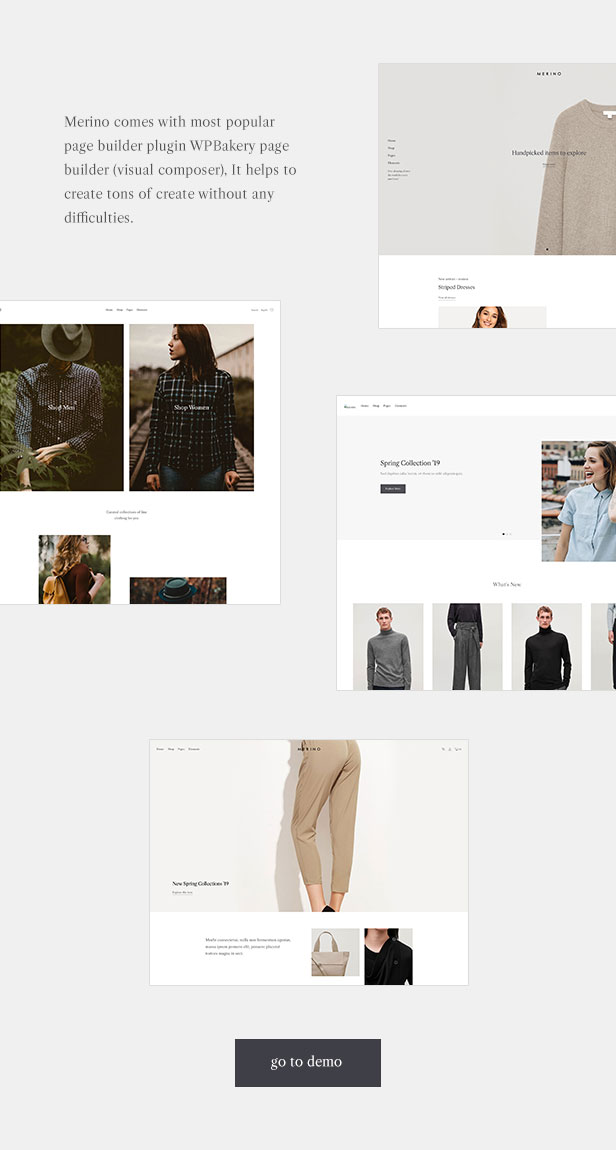 Merino | Modern WooCommerce shop theme for fashion store - 2