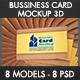 Bussiness Card 3d Mockup