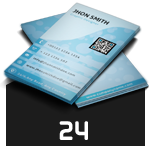 Business Card Template 74 - 24