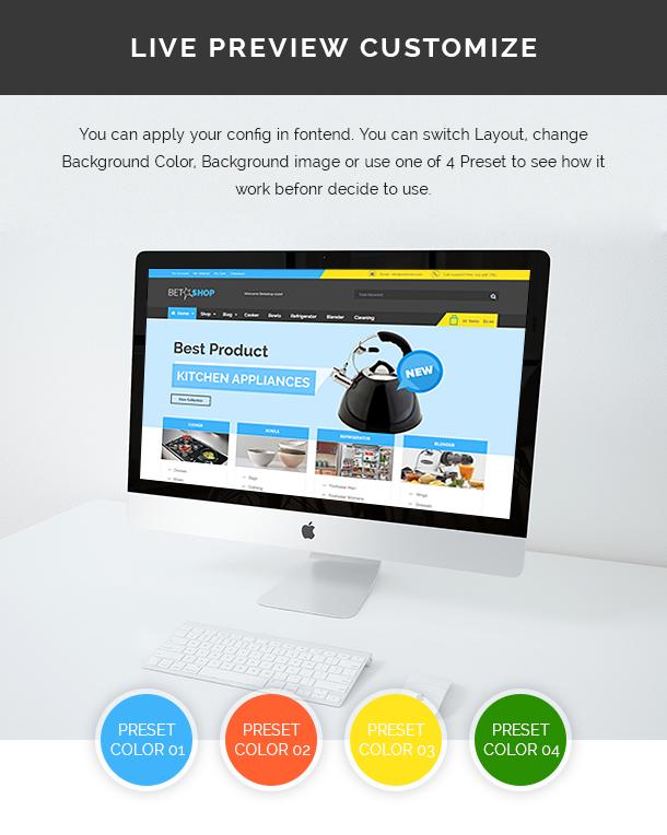 VG BetaShop - Kitchen Appliances WooCommerce Theme - 15