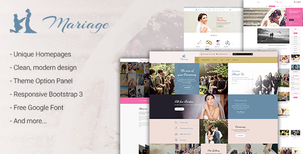 Wedding & Marriage - Wedding WordPress Theme - Wedding WordPress