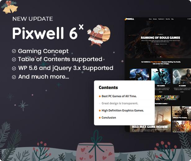 Pixwell version 6