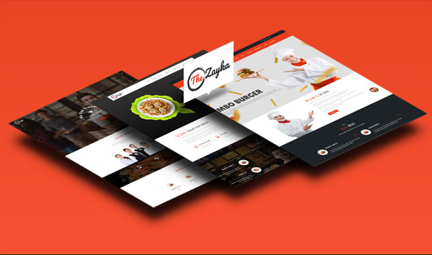 The Zayka – Multipurpose Restaurant, Food & Cafe MVC Theme - ecommerce, codecanyon, net
