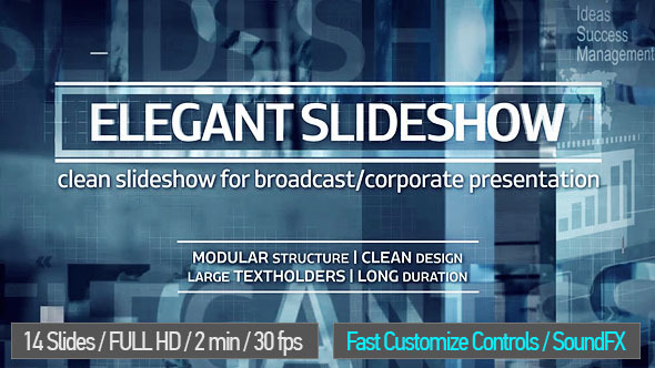 Corporate Broadcast Elegant Slideshow