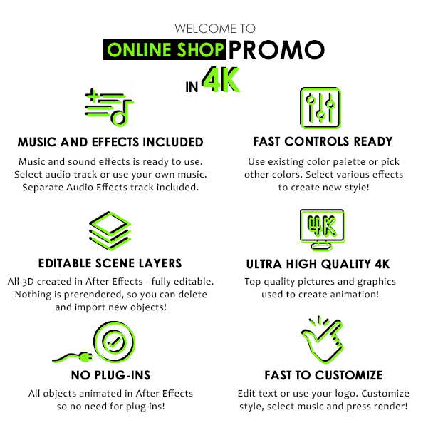 Online Shopping Store Promo - 1