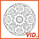 Contour Line Animation of 3D Gears