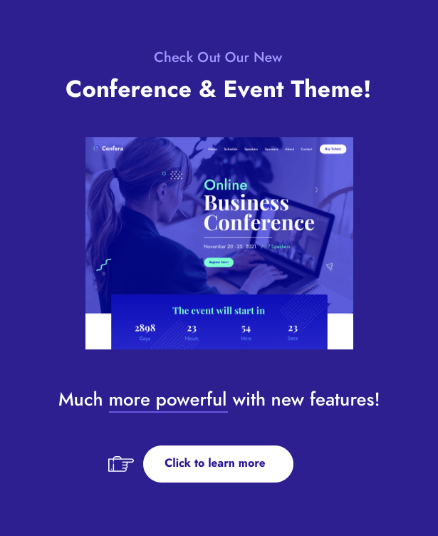 The Keynote - Conference / Event WordPress - 1