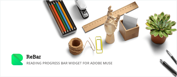 ReBar - Reading Progress Bar Widget for Adobe Muse
