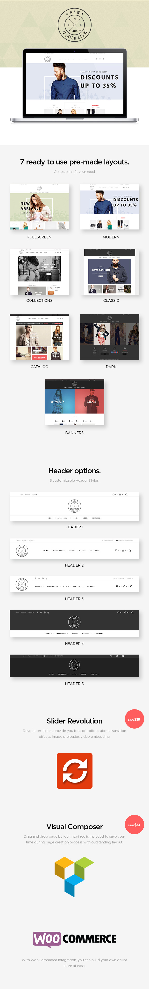 NewFashion - Modern WooCommerce WordPress Theme - 5