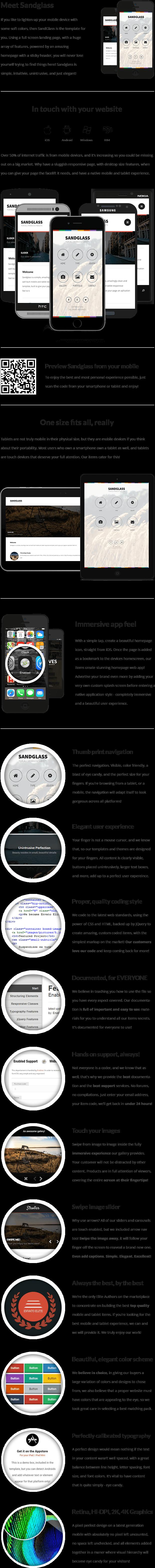 Sandglass Mobile | Mobile Template - 8