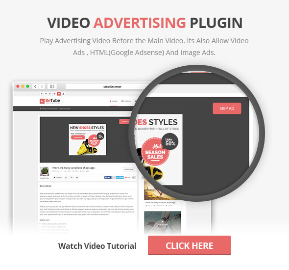 Video Ads Plugin