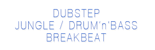 Drum and bass, breakbeat and jungle music