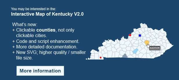 Interactive Map of Kentucky
