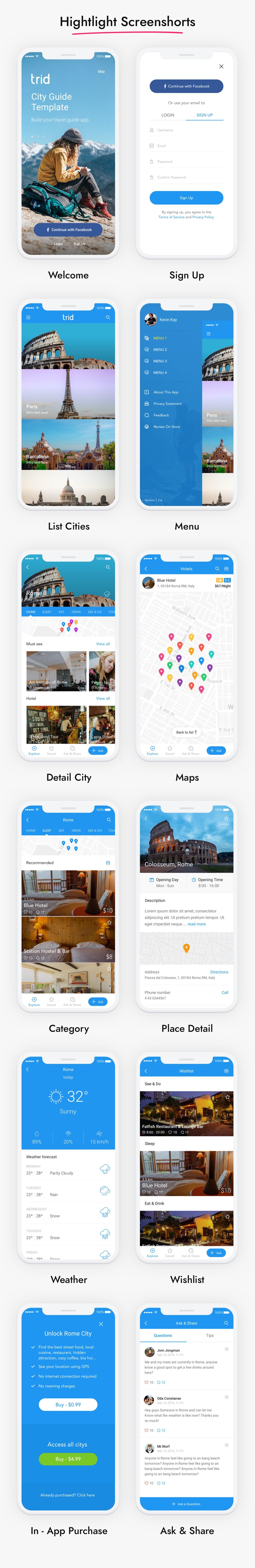 City Travel Guide iOS App
