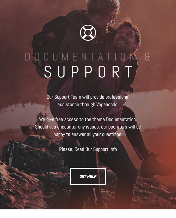 Vagabonds - Personal Travel & Lifestyle Blog WordPress Theme