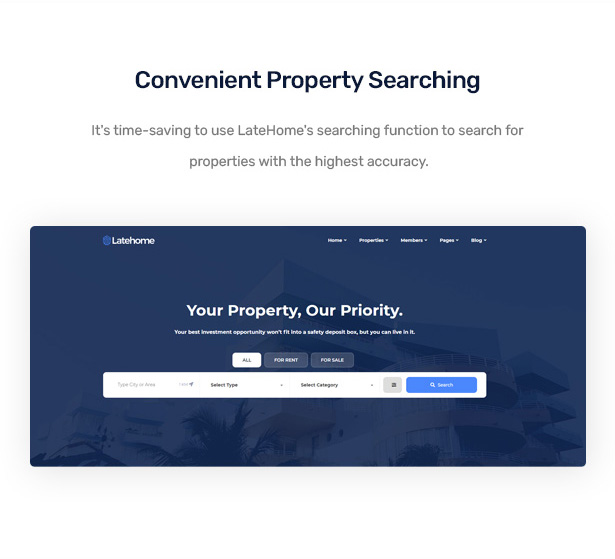 LateHome - Real Estate WordPress Theme 8