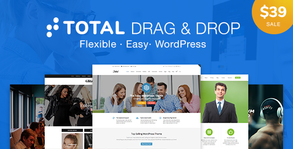 Total Drag and Drop WordPress Theme