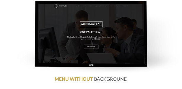Minimalize | Single Page Theme - 6