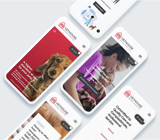 Vethouse - Pet Care & Veterinary Theme - 13