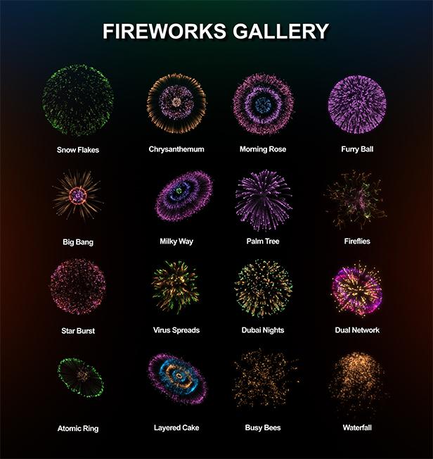 FESTIVE - Fireworks Pack - 1