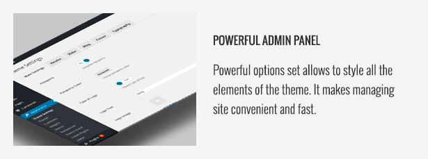Powerful Admin Panel