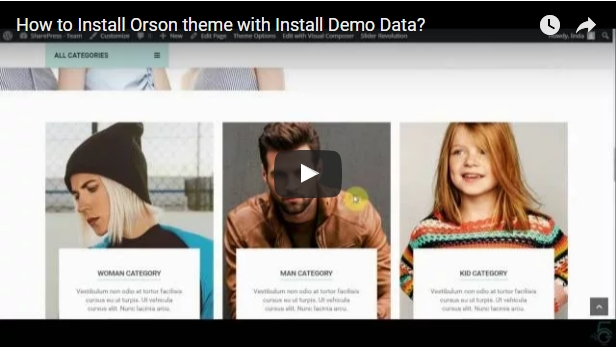 Orson - Innovative Ecommerce WordPress Theme for Online Stores - 2