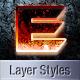 Amazing Sci-Fi Layer Styles