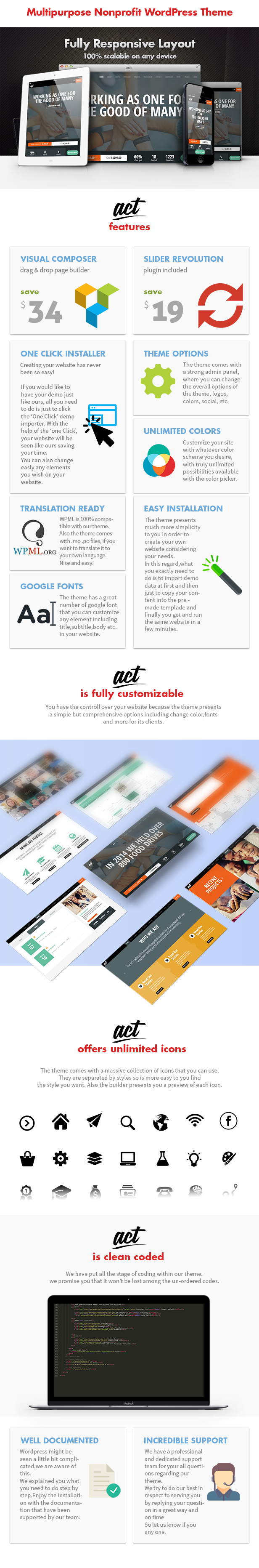 Act - Nonprofit Charity Theme - 3
