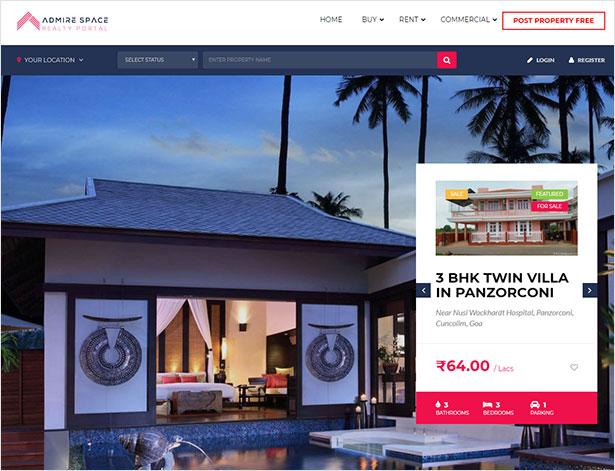 FullHouse - Real Estate Responsive WordPress Theme - 9