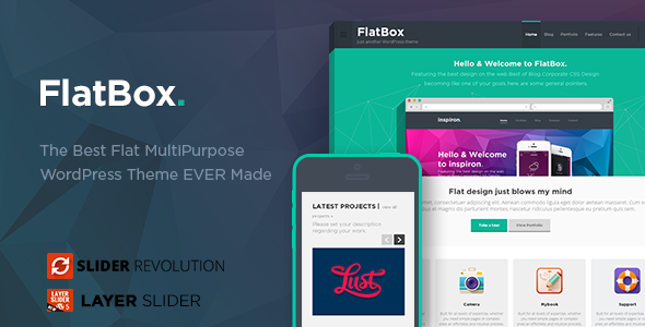 FlatBox - Unbounce Startup Template - 8