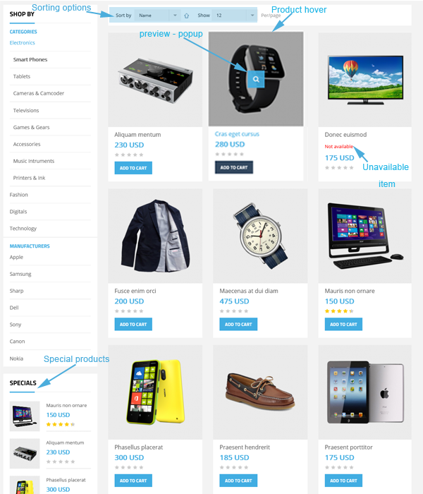G2Shop - joomshopping supported