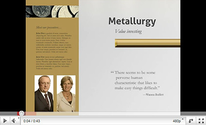 Metallurgy powerpoint presentation by jinwook graphicriver jinwook metallurgy powerpoint presentation toneelgroepblik Gallery