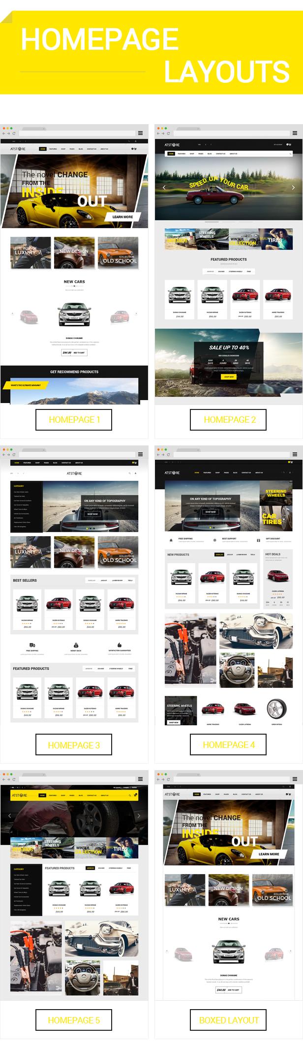 ATstore - Homepage