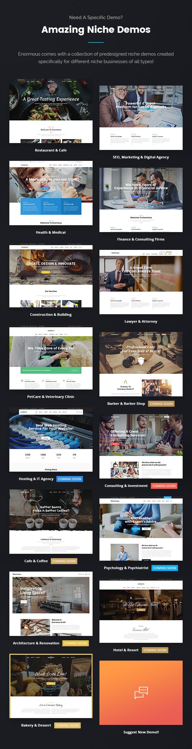 Enormous Business - Responsive Multi-Purpose WordPress Theme - 6