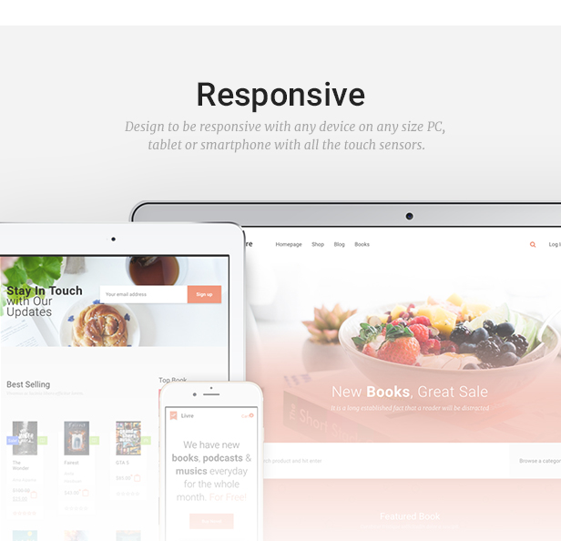 Livre - WooCommerce Theme For Book Store - 3