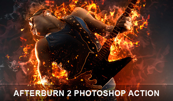 Afterburn 2 Photoshop actions