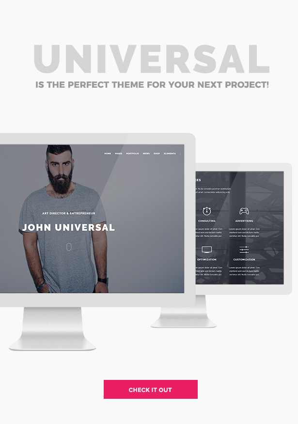 Universal - Smart Multi-Purpose WordPress Theme - 3
