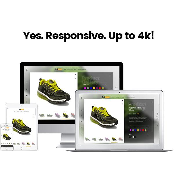 joli-sport - Responsive Design