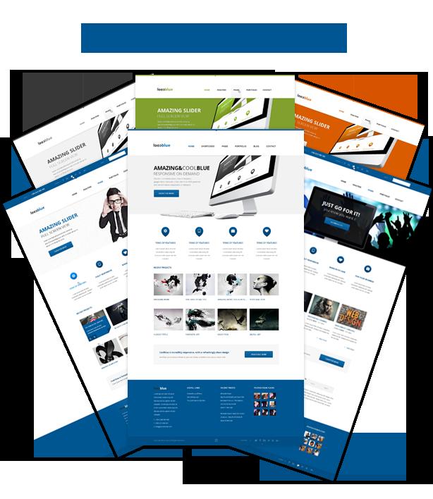 Coolblue - Responsive Multipurpose WordPress theme - 4