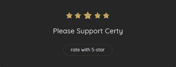 Please Rate Certy - Resume, CV WordPress Theme