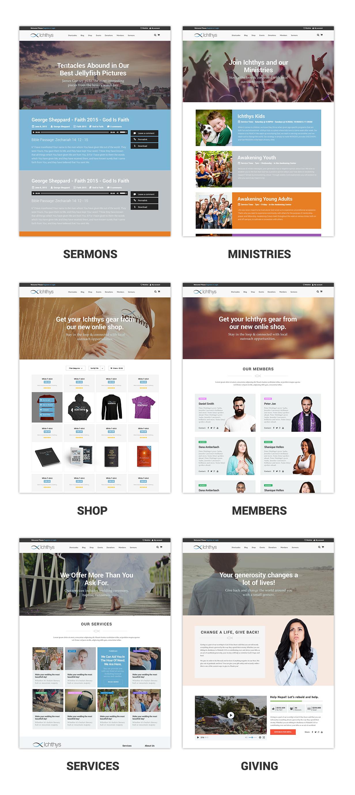 Ichthys - Church WordPress Theme - 6