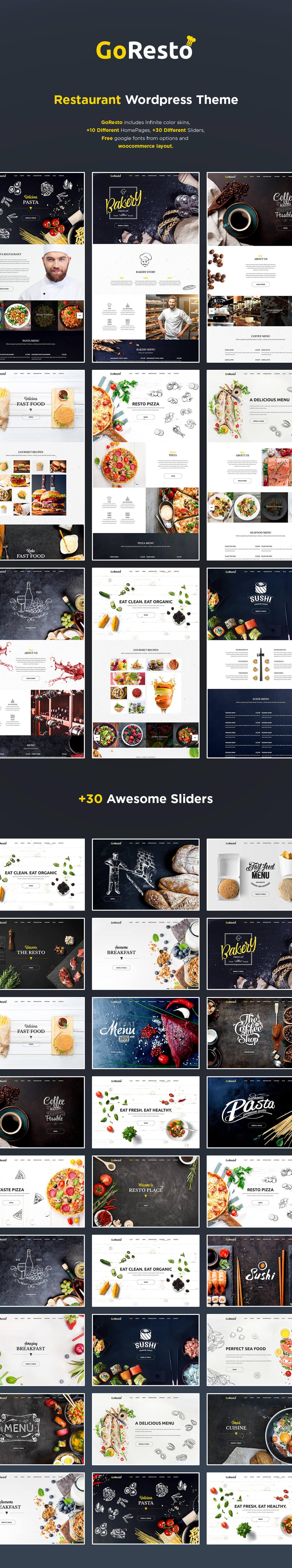 GoResto – Multipurpose Restaurant & Table Booking WordPress Theme - 4